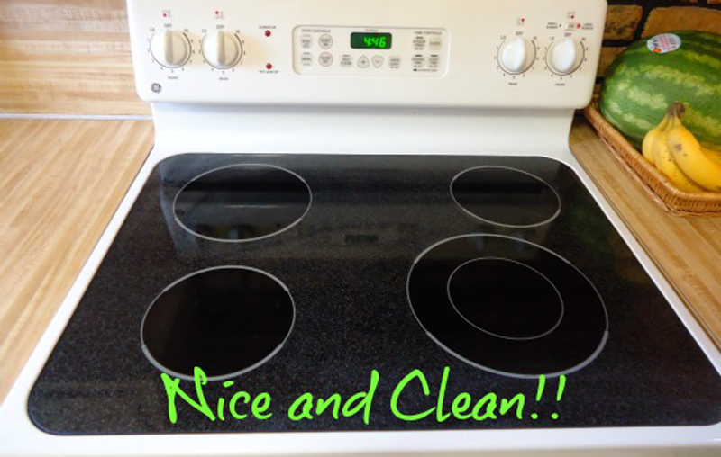 cleaning stove top how to clean a smooth stovetop 30388