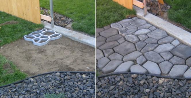 cobble stone path fb