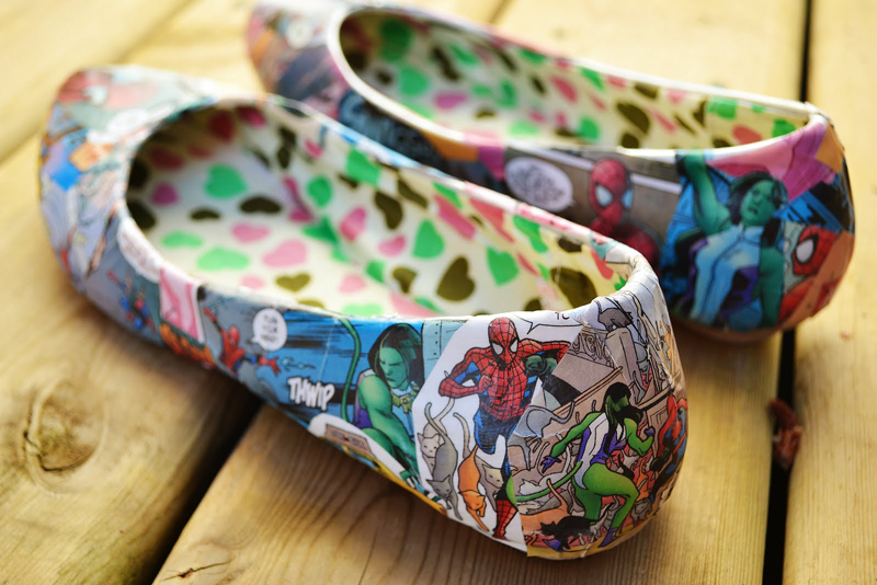 Comic book shoes 04