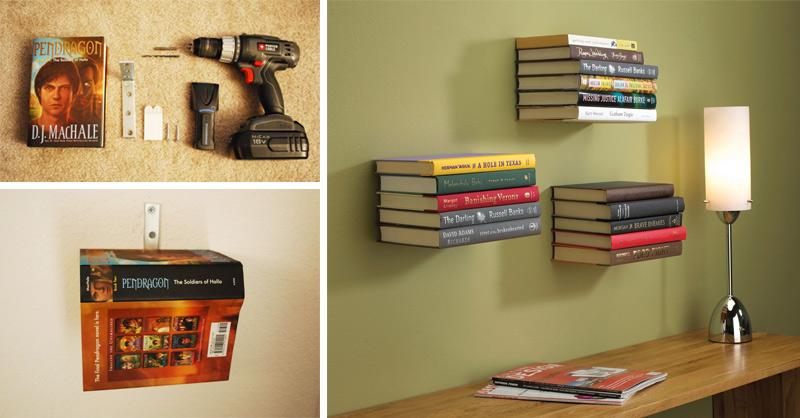 size 40 4af11 a55cb How to Make Conceal Bookshelf - DIY & Crafts - Handimania