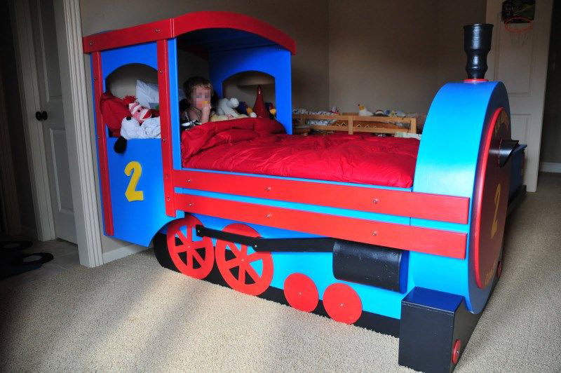 Cool Train Bed 3 7