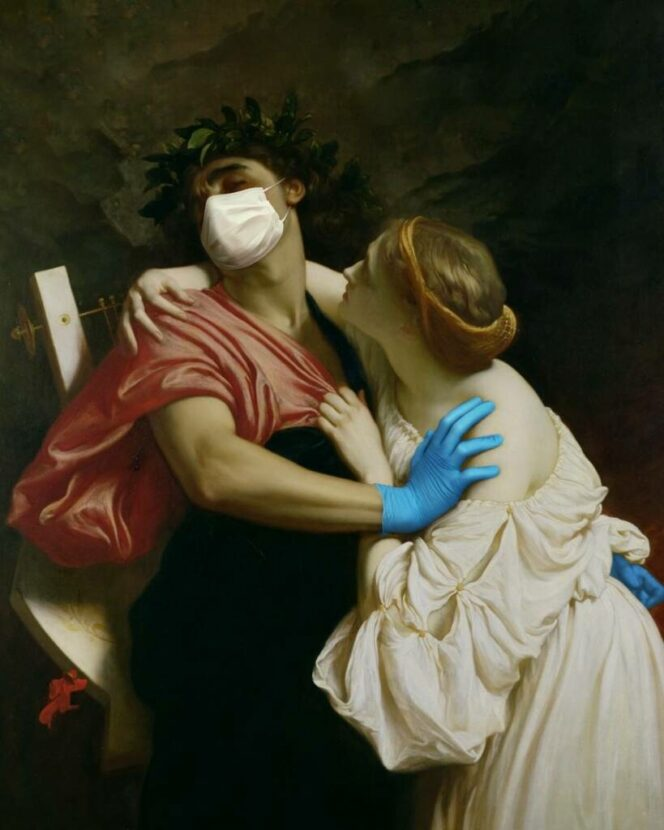 Art of Quarantine – Paintings Come off the Walls to Help Fight the Virus