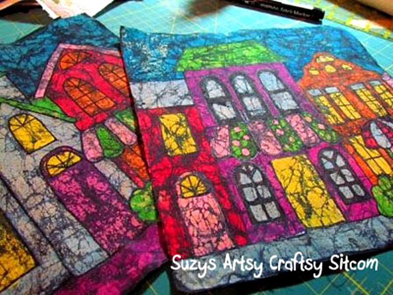 How To Make Crayon Batik Fabric Diy Amp Crafts Handimania