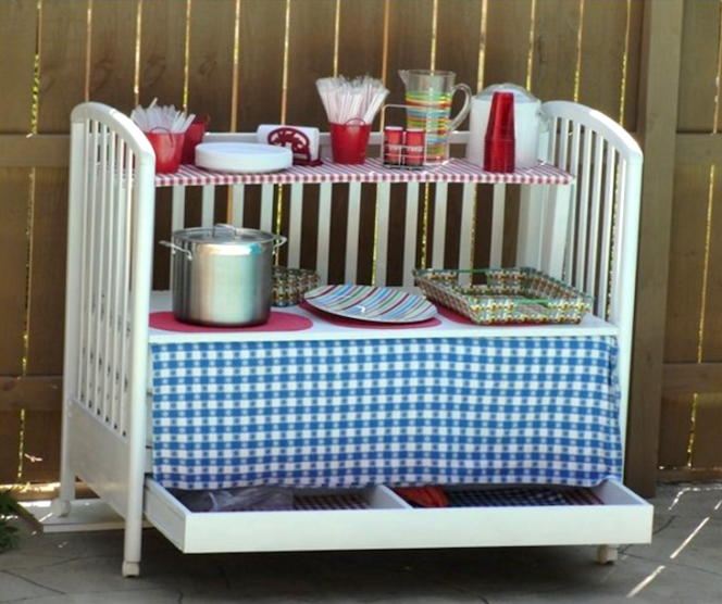 18 Fresh Ideas for a New Use of the Old Crib