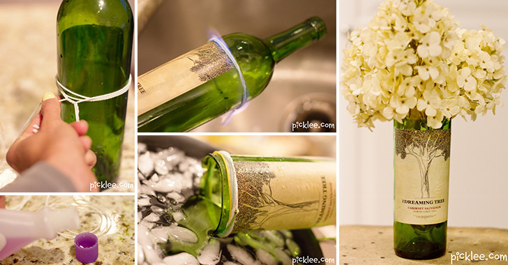 Glass bottle craft ideas archives craft weekly for Glass bottle cutting ideas