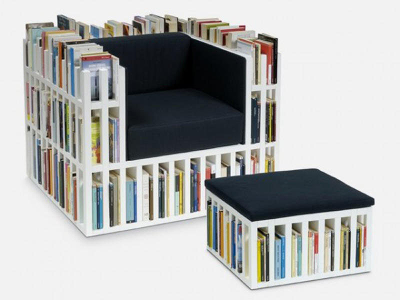 How to Make DIY Bookshelf Chair - DIY u0026 Crafts - Handimania