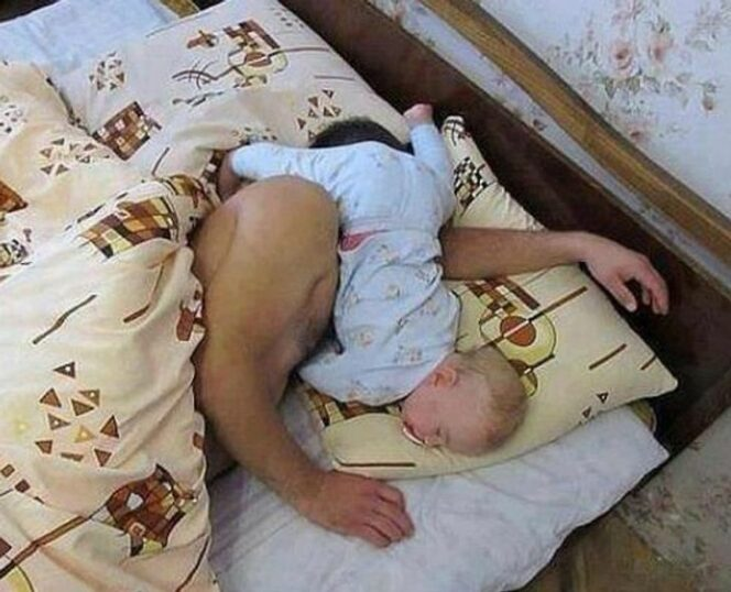 16 Examples Proving That Being a Father Is a Great Challenge for Really Tough Guys