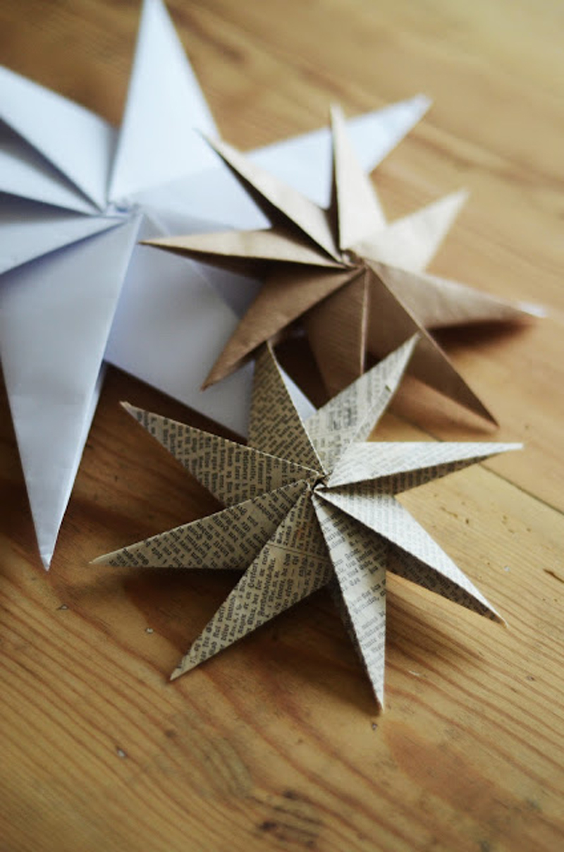 how to make decorative paper star diy crafts handimania