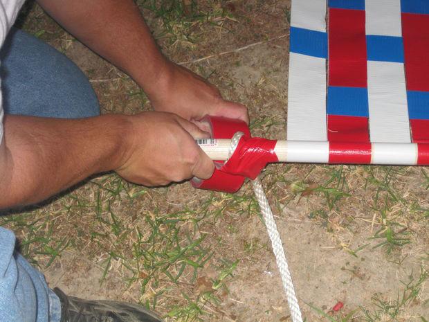 How To Make Duct Tape Hammock Diy Amp Crafts Handimania