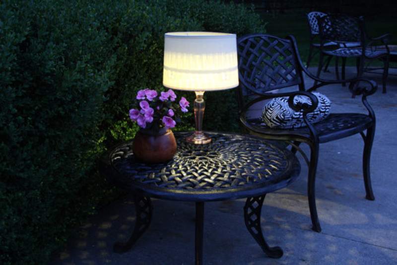 ... Electricity Free Outdoor Table Lamp 02