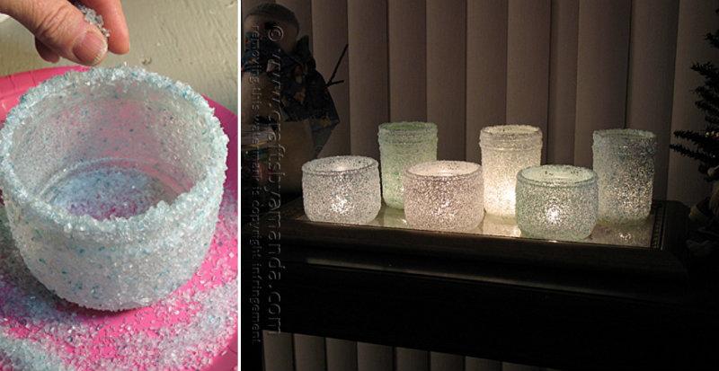 How To Make Epsom Salt Luminaries Diy Amp Crafts Handimania