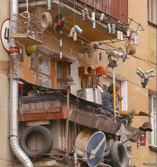 15 bizarre balconies you are not likely to see in your neighbourhood