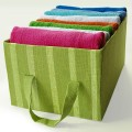 Fabric Covered Cardboard Storage Box