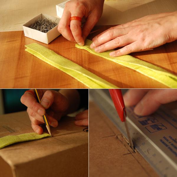 Fabric Covered Cardboard Storage Box 02