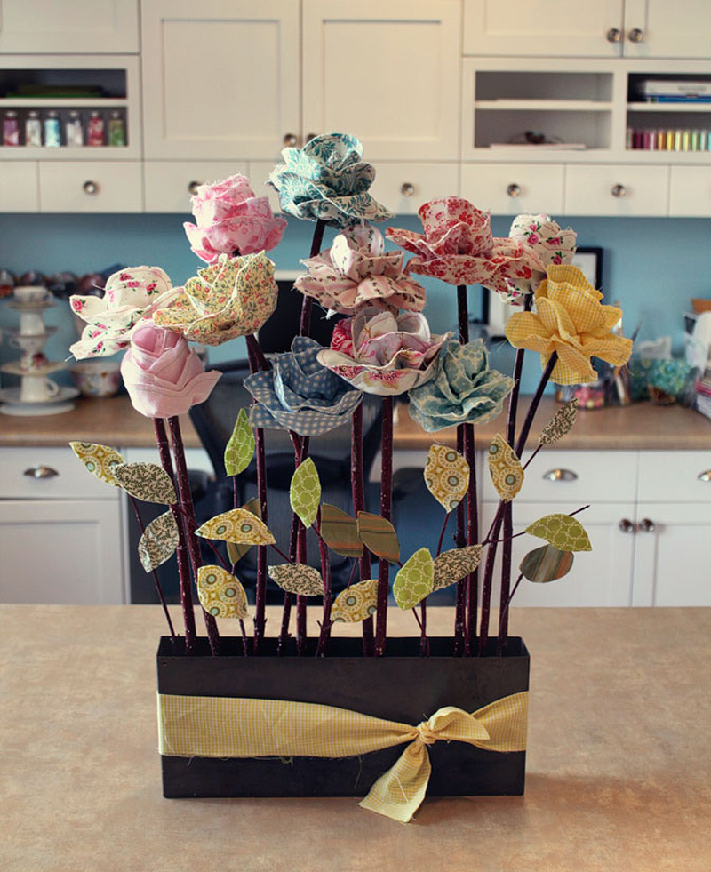 Декор своими руками цветок
