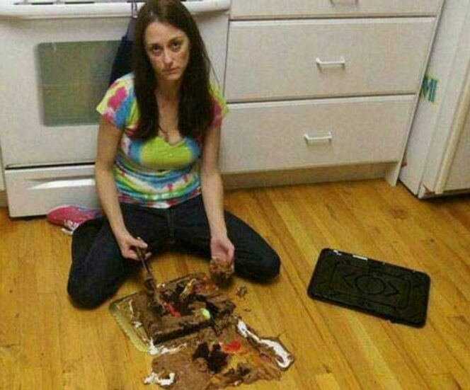 16 Funny Cooking Fails. Even the Best Cooks Happen to Have Done Something Like This!