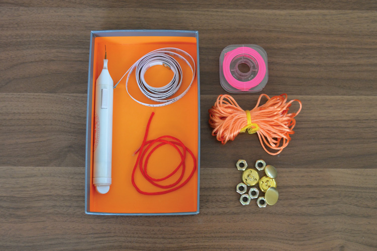 Fishtail Bracelet - Supplies