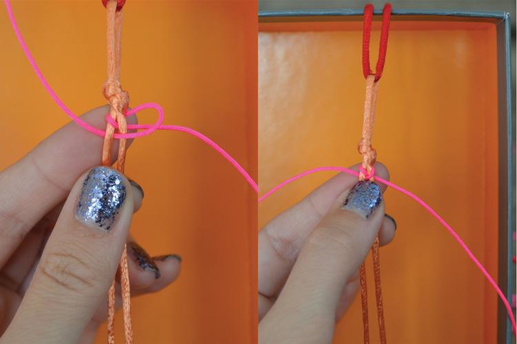 Fishtail Bracelet - Progress