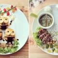 food art on the plate fb