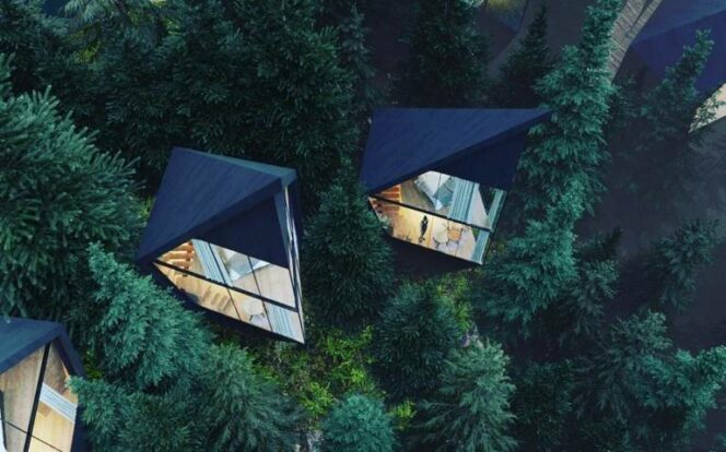 An Architect Creates Some Functional Houses in the Middle of the Forest. They Look So Futuristic!