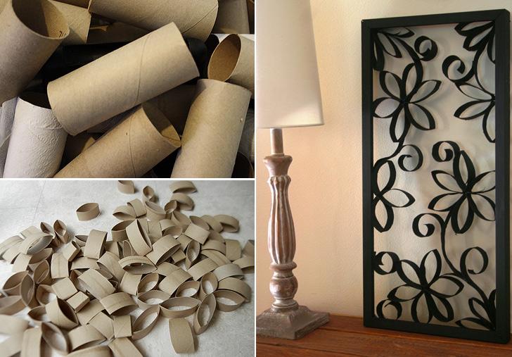 How to Make Framed Paper Rolls Flower Decoration - DIY & Crafts - Handimania