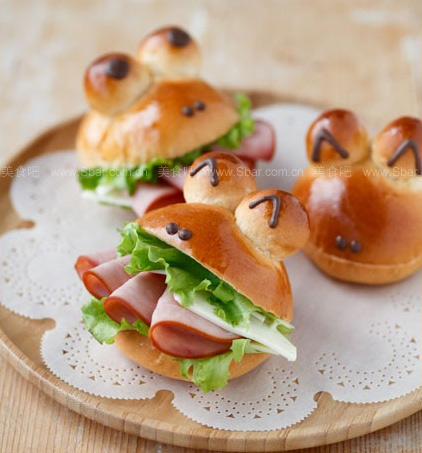 Frog Shaped Buns
