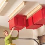 Garage Ceiling Sliding Storage