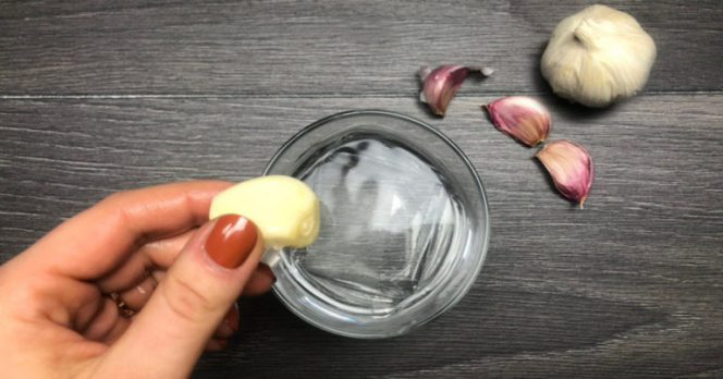 Water and Garlic. It's Not Only the Common Cold You Can Treat with It