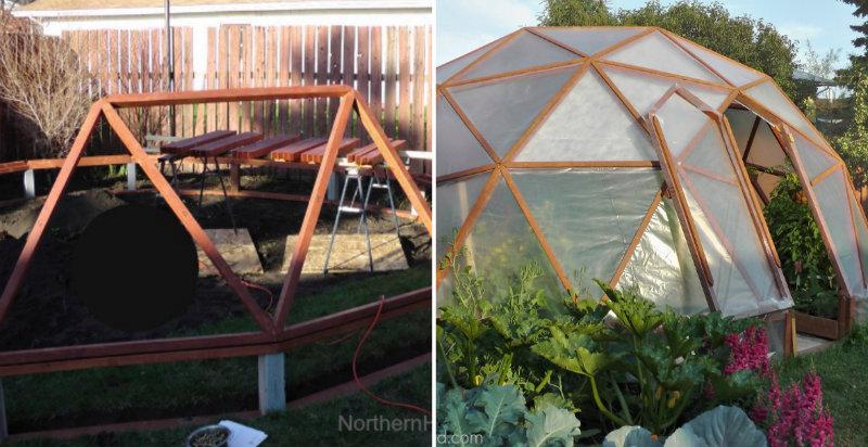 How To Make Geodome Greenhouse Diy Amp Crafts Handimania