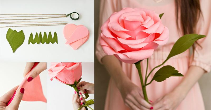 Making flower with crepe paper nurufunicaasl making mightylinksfo