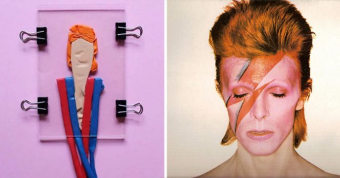 Creativity Knows No Limits. This Artists Creates Portraits of Celebrities Using… Uninflated Balloons!