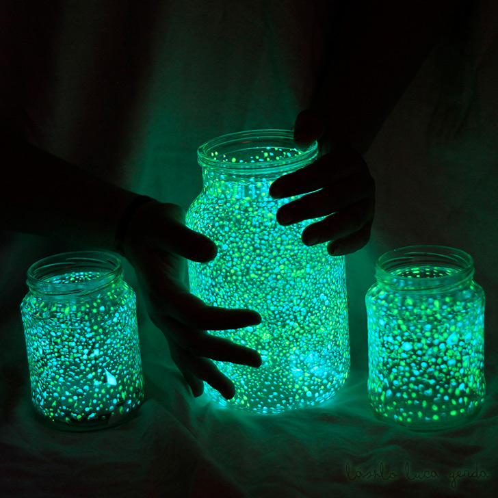 Jar Glowing