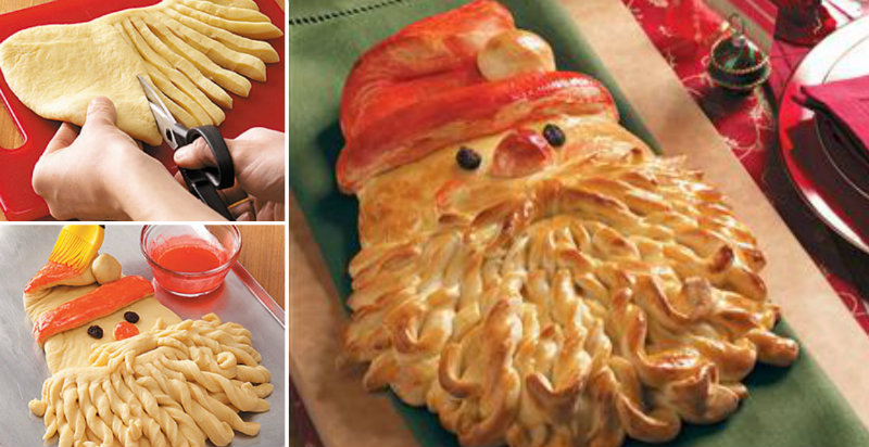 golden santa bread fb