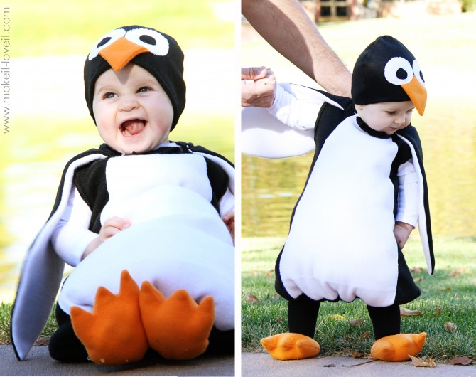 halloween kid penguin costume - Infant Penguin Halloween Costume