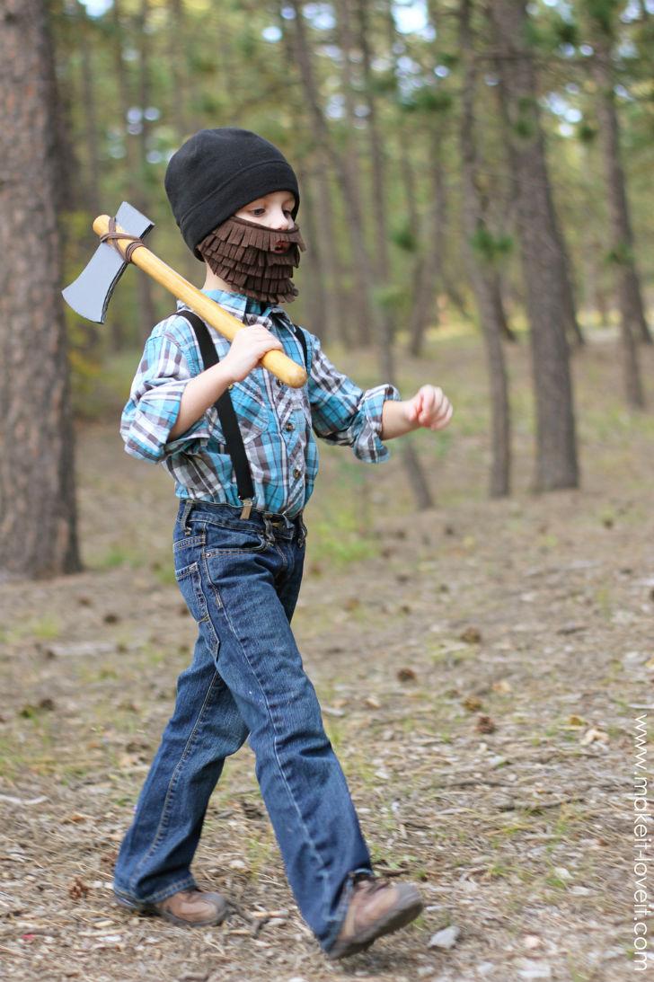 Halloween Lumber Jack Costume