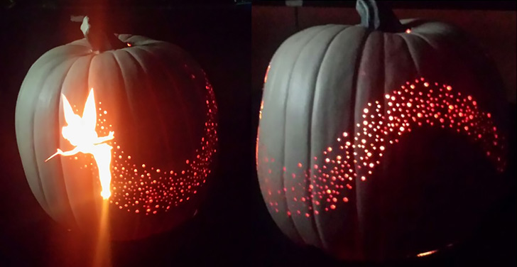 How To Make Halloween Tinker Bell Pumpkin Diy Amp Crafts