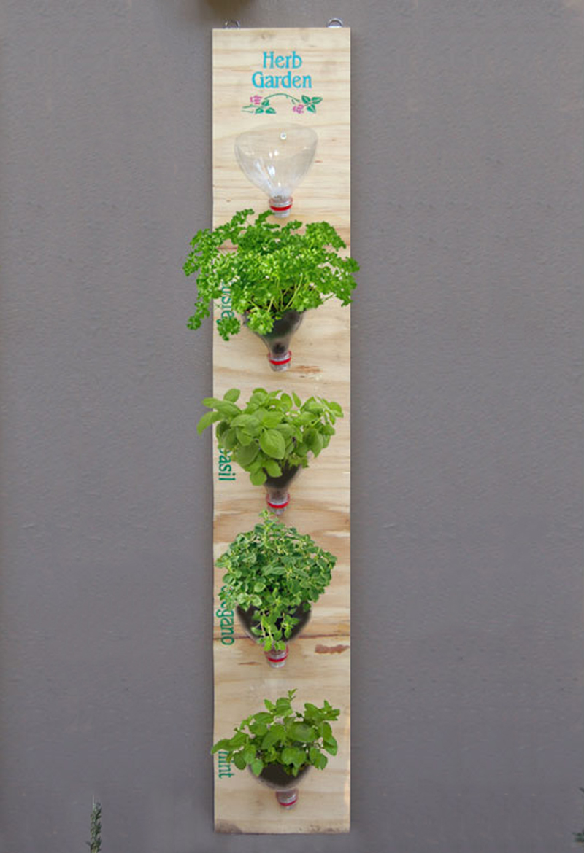 Hanging Herb Garden 03