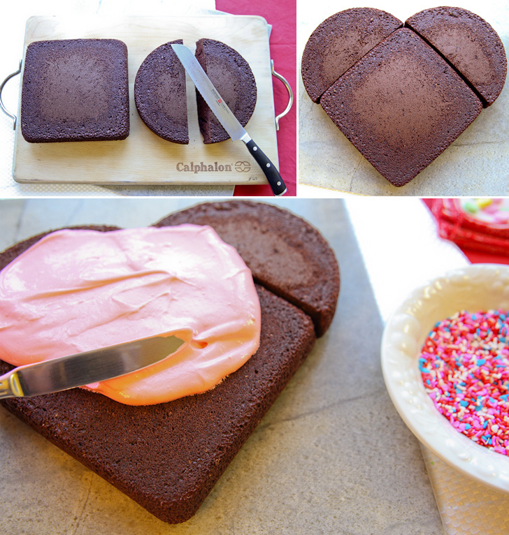 How to Make Heart Shaped Cake - Cooking - Handimania