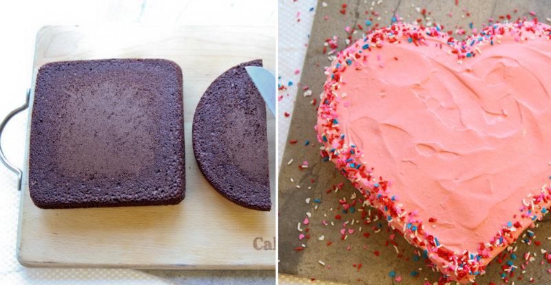 How To Make Heart Shaped Cake Cooking Handimania