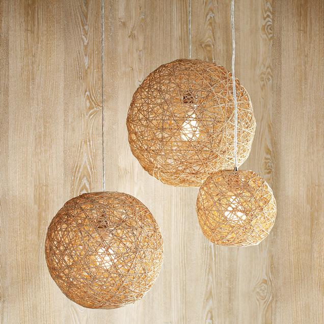 Hemp Twine Ball Lamp Inspiration