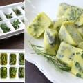Herbs Frozen in Olive Oil
