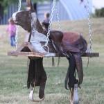 Horse And Saddle Swing