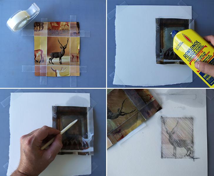 Impression Prints Collage