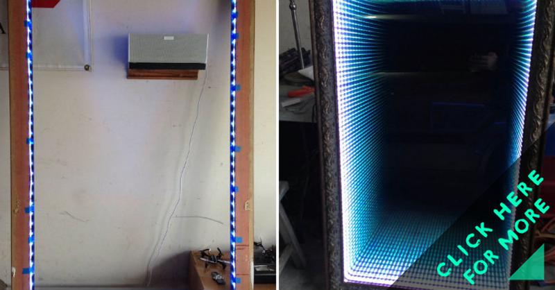 How To Make Infinity Led Mirror Diy Amp Crafts Handimania