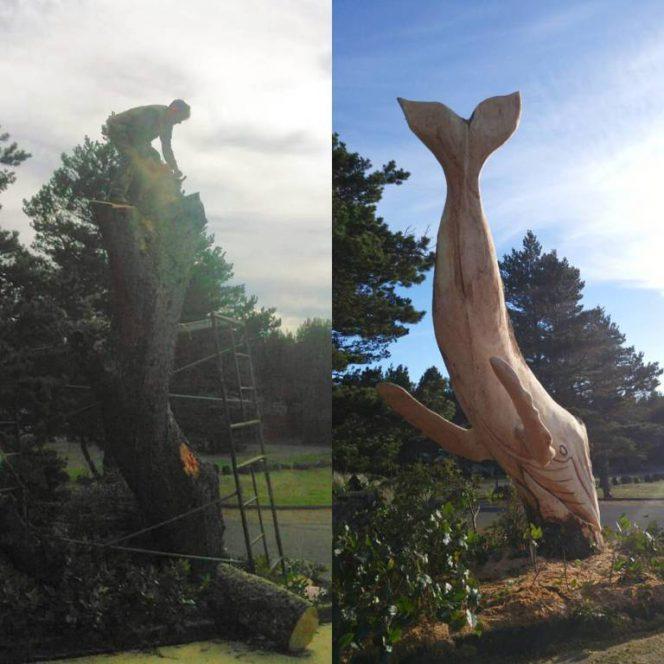 Jeffro Uitto Creates Wonderful Sculpture Using Wood Found on the Beach