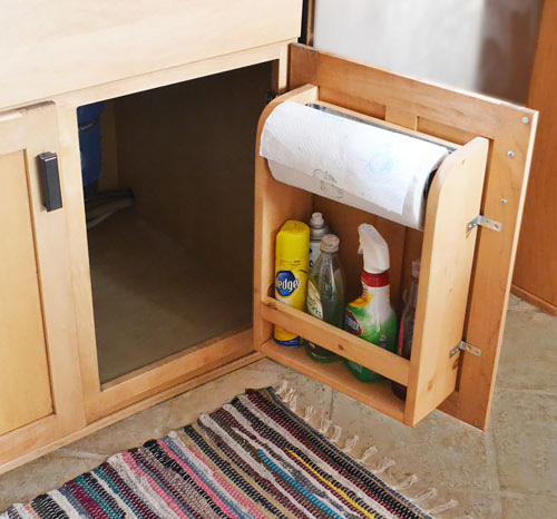 Dyi Kitchen Cabinets: How To Make Kitchen Cabinet Door Organizer