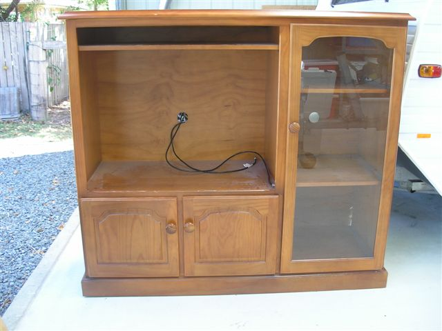 An Old TV Cabinet Can Be Easily Transformed into a Fantastic Toy for Your Kids