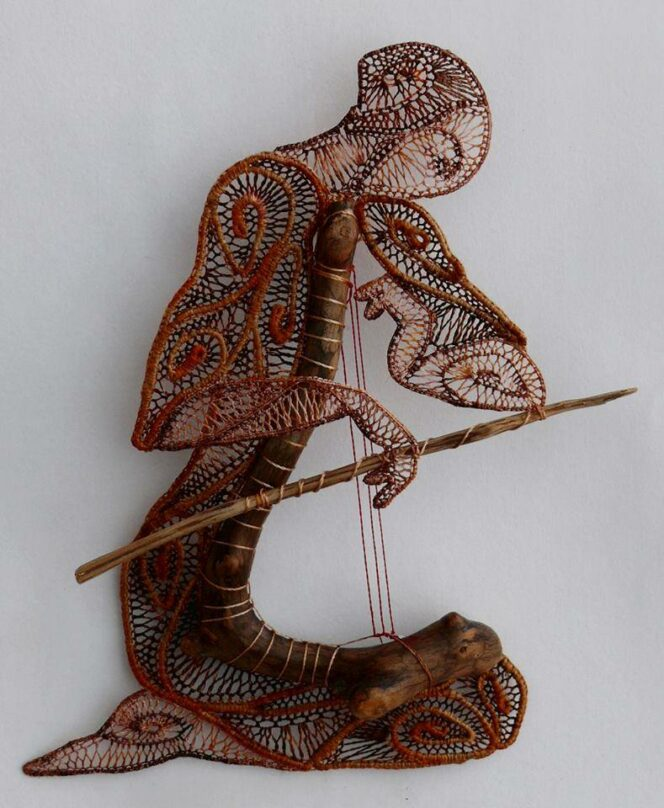19 Delicate and Magical Lace Decorations. A Hungarian Artist Breathes a Soul into Them