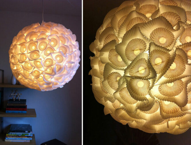 21 Unusual Lamps Made of Everyday Items. Get Inspired to Create Wonderfully Recycled Things!