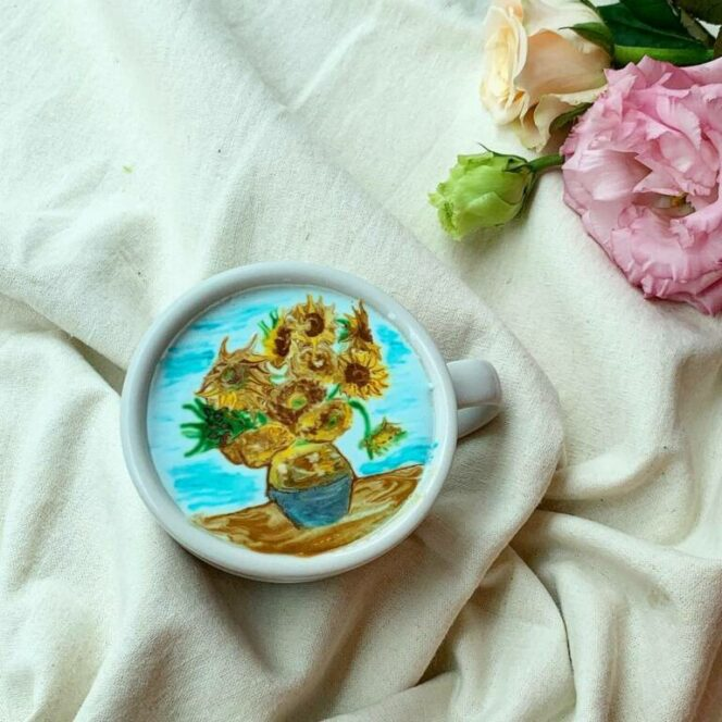 27 Charming Images Created on Coffee Foam. This Is What You Call 'Latte Art'!